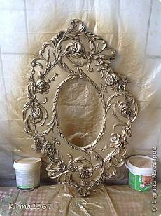 Делаем старинное зеркало своими руками - Сам себе волшебник