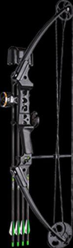 Brennan Youth - Bows 12337 16 Gen X Bow Kit Black Left Hand