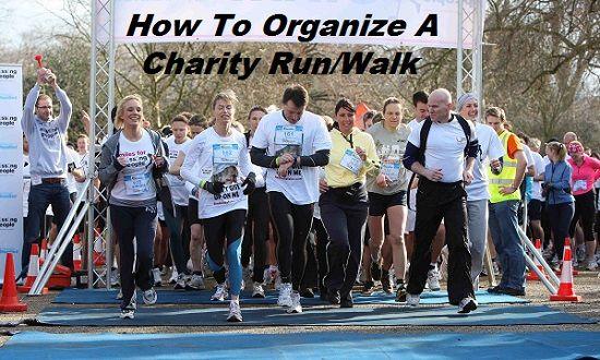FundraiserHelp.com: How To Organize A Charity Run/Walk
