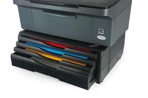 Supporto-porta-stampante-o-fax-robusto-con-4-cassetti-per-carta-e-cancelleria