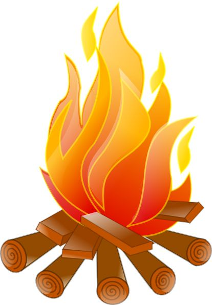 campfire clip art campfire no shadow clip art vector clip art on rh pinterest com campfire clipart black and white free