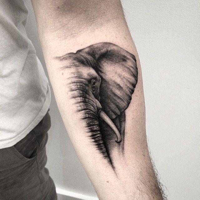 elephant-tattoos-04   tatuajes | Spanish tatuajes  |tatuajes para mujeres | tatuajes para hombres  | diseños de tatuajes http://amzn.to/28PQlav