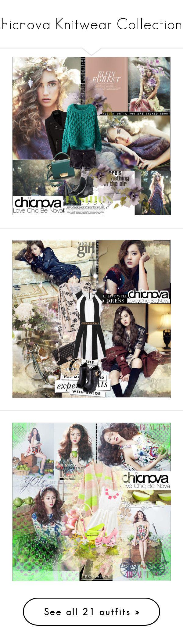 """Chicnova Knitwear Collection!!!"" by vidutoria ❤ liked on Polyvore featuring ZAC Zac Posen, Levi's, Kate Spade, vintage, Mavi, Louis Vuitton, Hermès, PLANT, MCM and Benjamin Moore"
