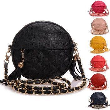 Messenger PU leather handbags for women