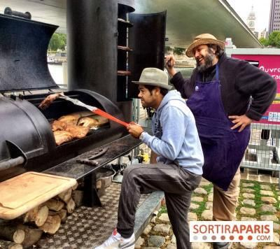 La Braise : barbecue géant au Trinquet