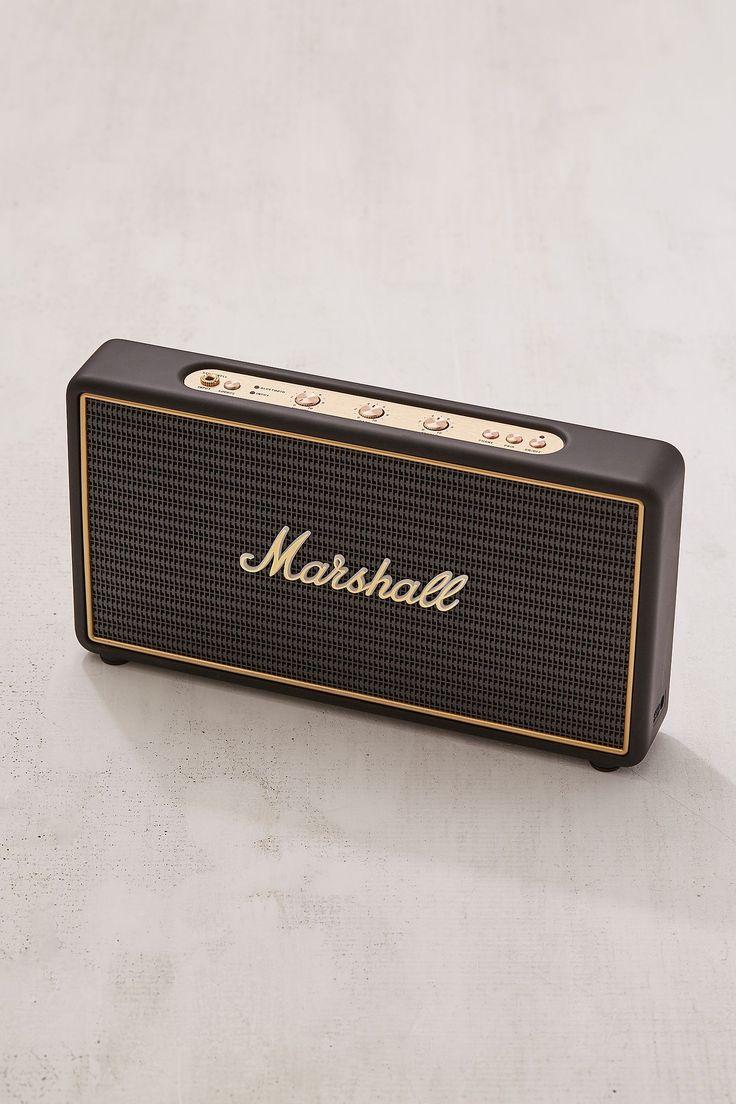 Slide View: 5: Marshall Stockwell Travel Speaker + Stand Set