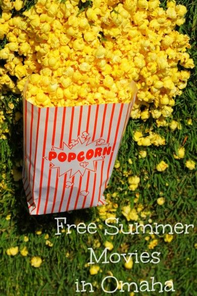 A chronological list of free summer movies in Omaha - there are a lot of them!