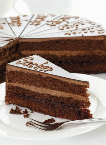 Венский торт «Захер»