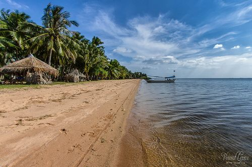 Angkul beach - Cambodge
