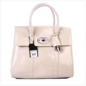 Fashion Mulberry MB-33 Nude Patent Leather Bags Sale : Mulberry Outlet £144.42
