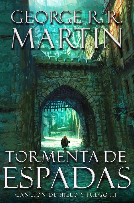 """""""Tormenta de Espadas"""" de George R.R. Martin. Realmente este libro te deja sin respiración, con el corazón encogido y deseando leer más."""