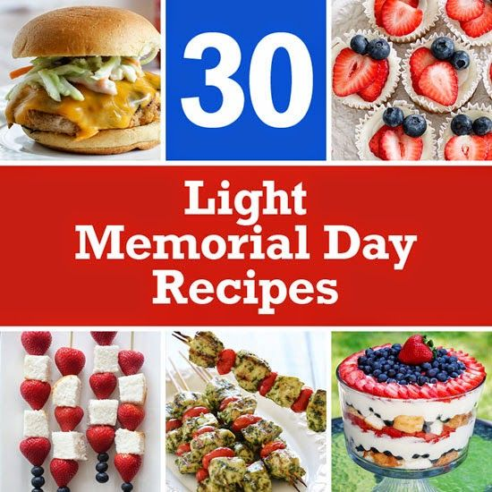 30 Light Memorial day (actually every day) Recipes | Skinnytaste.
