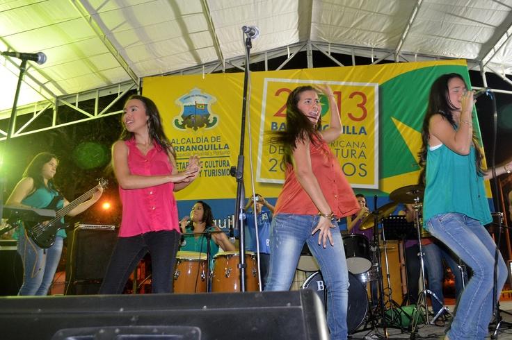 Concierto de la Orquesta Femenina Encanto. Celebra la Música - Barranquilla. Crédito Secretaría de Cultura de Barranquilla.