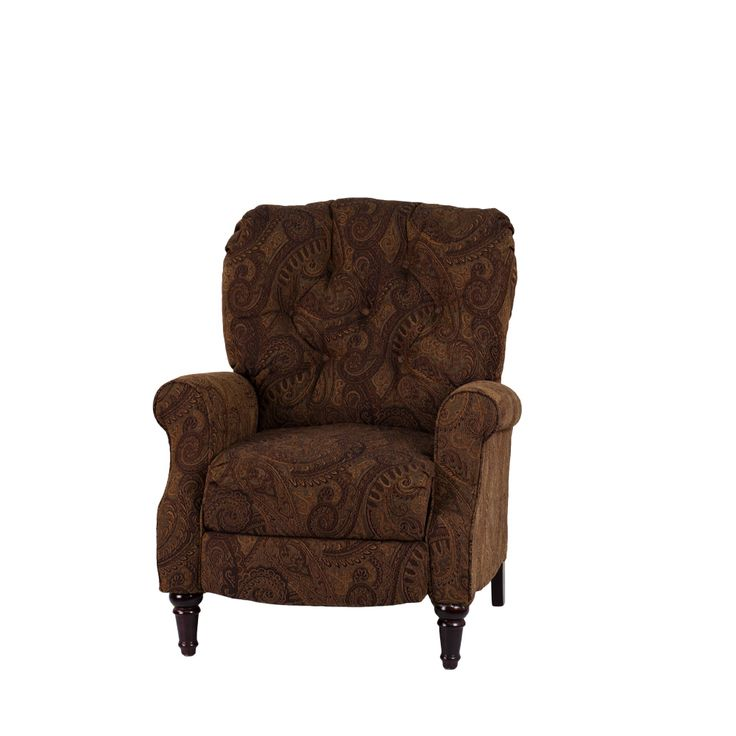 Traditional Tobacco Fabric Tufted Hi-Leg Recliner  sc 1 st  Pinterest & 15 best Paisley and leather furniture images on Pinterest ... islam-shia.org