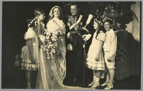 Crown Princess Juliana of the Netherlands  Prince Bernhard of Lippe-Biesterfeld -1937