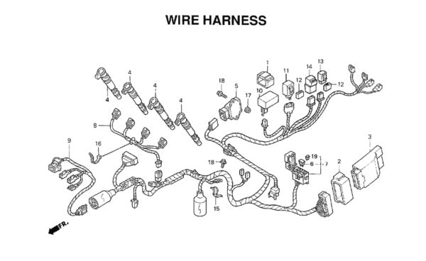 2002 Honda Cbr 600 F4i Wiring Diagram Collection
