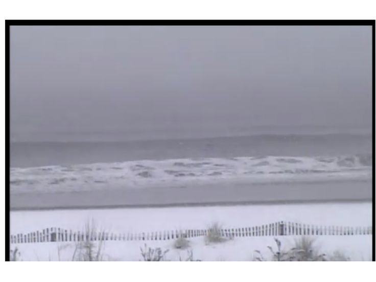 Ocean City, NJ - The National Weather Service has issued a Winter Weather Advisory for snow, which is in effect until 7 p.m. Sunday. | Patch