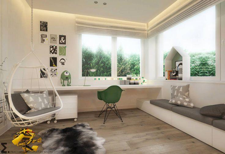 Modern Çocuk Odası ELEMENTY - Pracownia Architektury Wnętrz