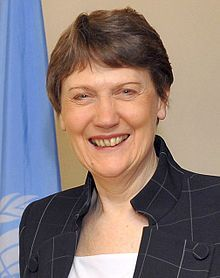 Helen Elizabeth Clark, ONZ SSI (born 26 February 1950) is a New Zealand politician, who was the 37th Prime Minister of New Zealand serving t...
