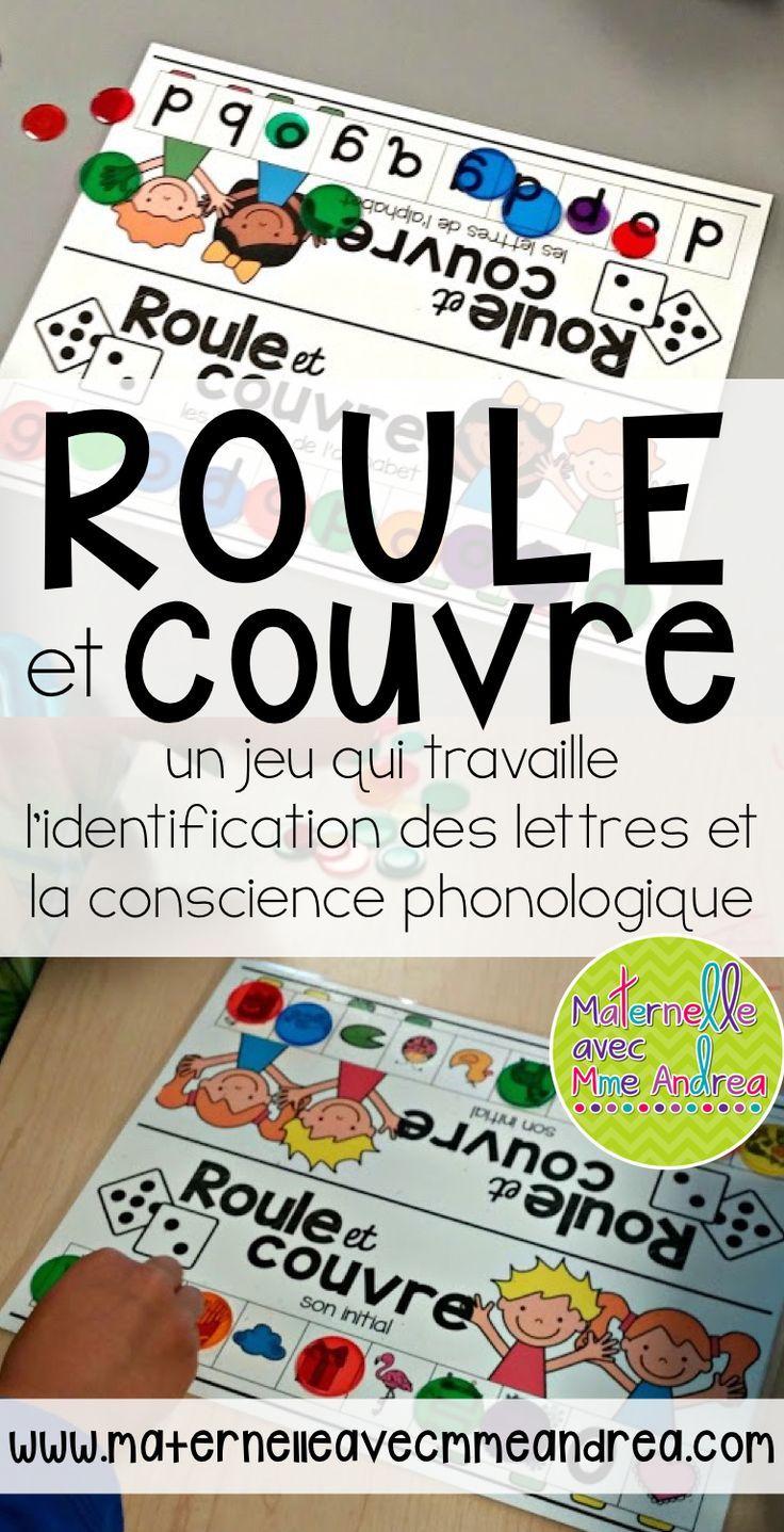 Un jeu très amusant en français qui travaille l'identification des lettres et la conscience phonologique
