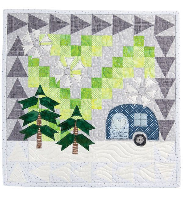 Polar Lights Mini Quilt Kit: Meet Designer Terri Vanden
