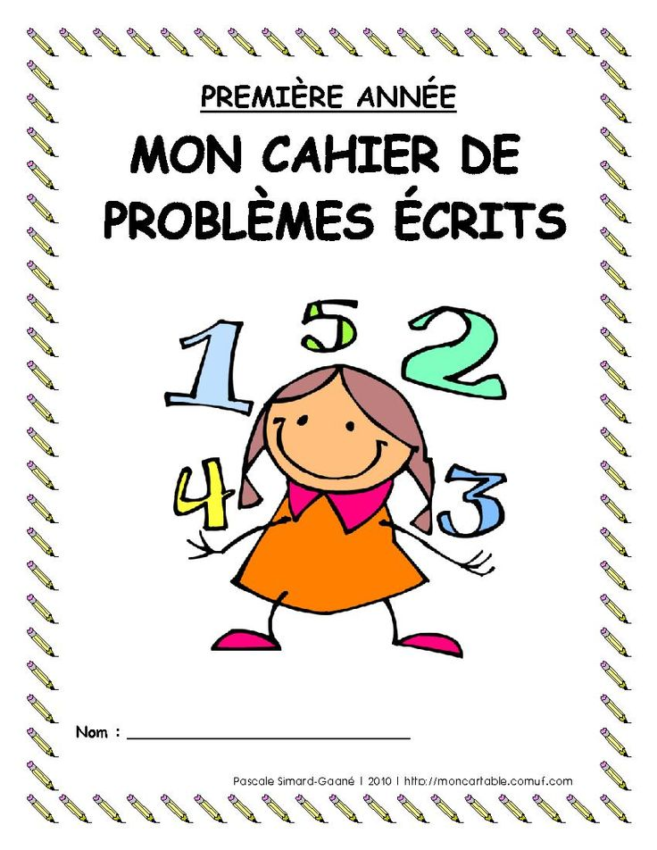 Mon cartable - Site de partage de ressources entre enseignants du préscolaire et du primaire - www.moncartable.ca - Résolution de problèmes