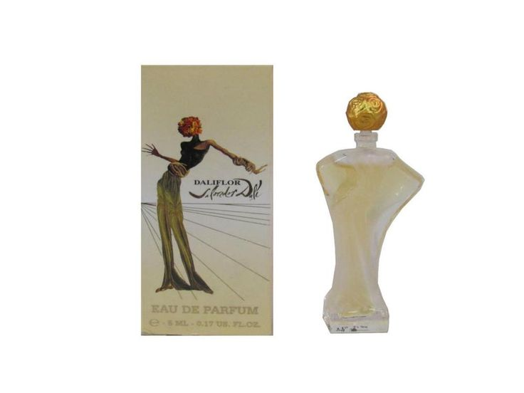 DALIFLOR 5 ml Eau de Parfum Miniature for Women (New In Box) By Salvador Dali