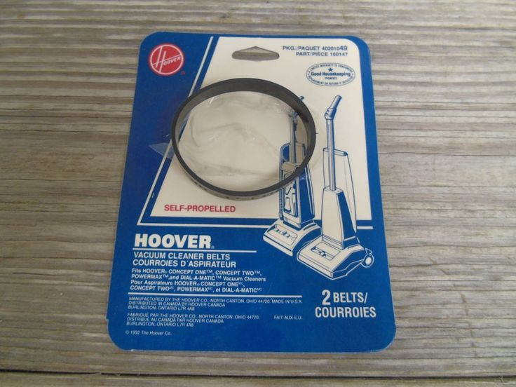 Hoover Vacuum Cleaner Self -Propelled Belt 160147 Hoover Concept Vintage 1992 | Home & Garden, Household Supplies & Cleaning, Vacuum Parts & Accessories | eBay!
