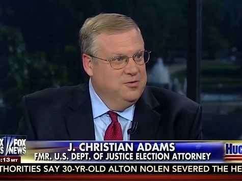 "J. Christian Adams, a former Justice Department official who served during both the Bush and Obama administrations said that ""the law was a suggestion"" under Attorney General Eric Holder and ""there is a culture of lawlessness in the Justice Department"" on Saturday's ""Huckabee"" on the Fox News Channel."