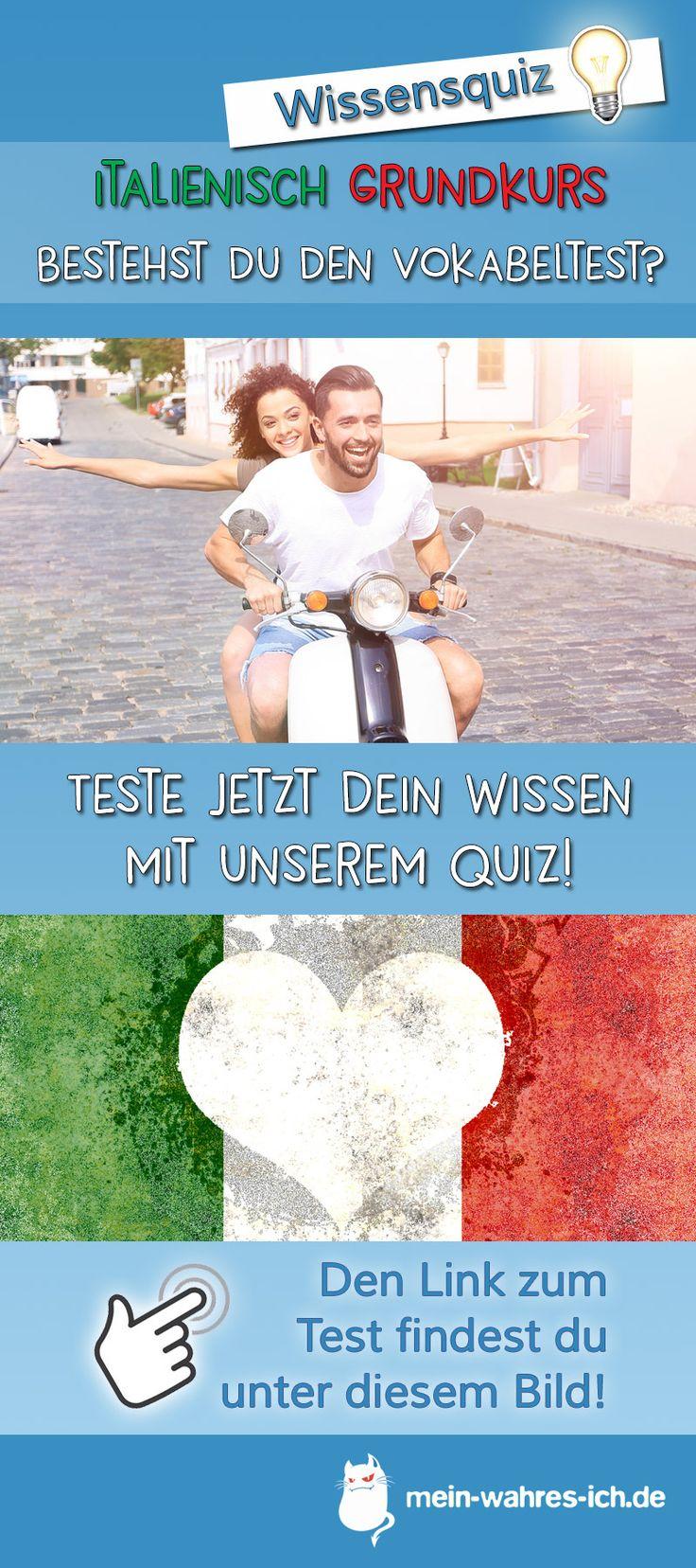 Italienisch Grundkurs - Bestehst du den Vokabeltest?  #meinwahresich #wissensquiz #testedeinwissen #italien #italienisch #vokabeltest #italienischkurs #quiz