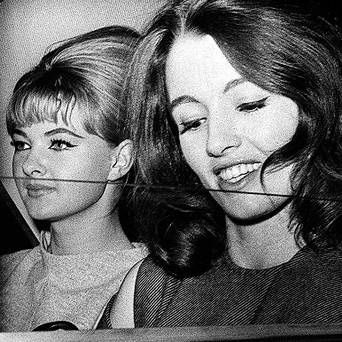 MANDY RICE DAVIES AND CHRISTINE KEELER. THE HOKEY POKEY MAN AND AN INSANE HAWKER OF FISH BY CONNIE DURAND. AVAILABLE ON AMAZON KINDLE.