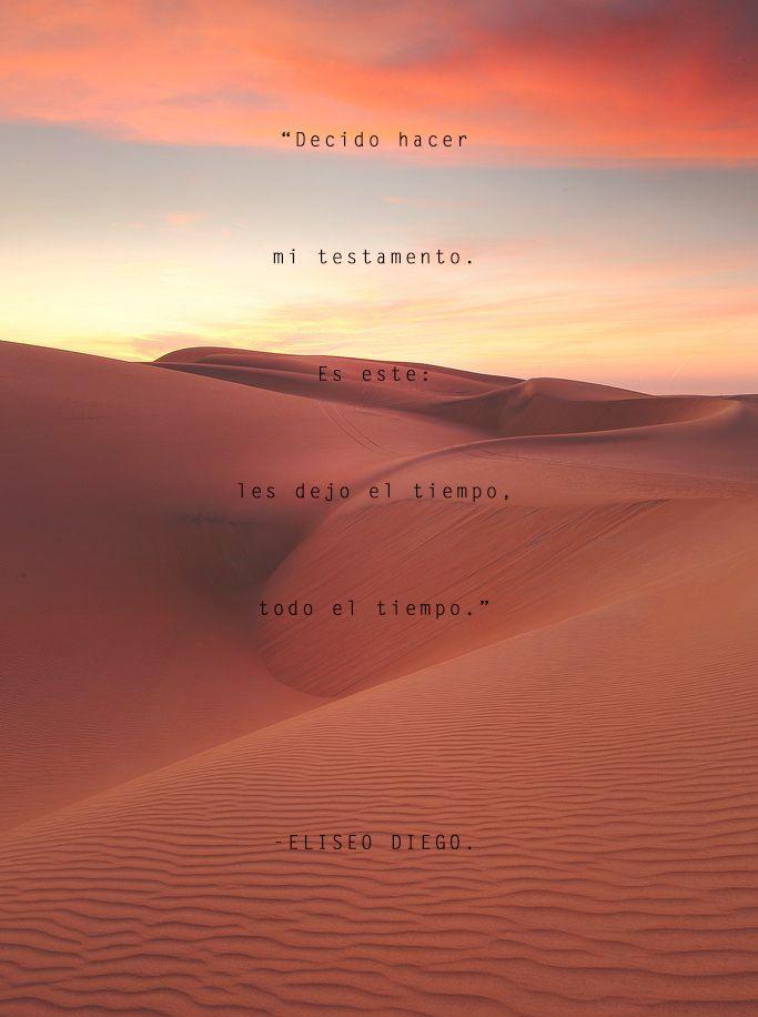 Eliseo Diego, poesía hispanoamericana, Cuba, testamento, desierto, tiempo, UNAM, México