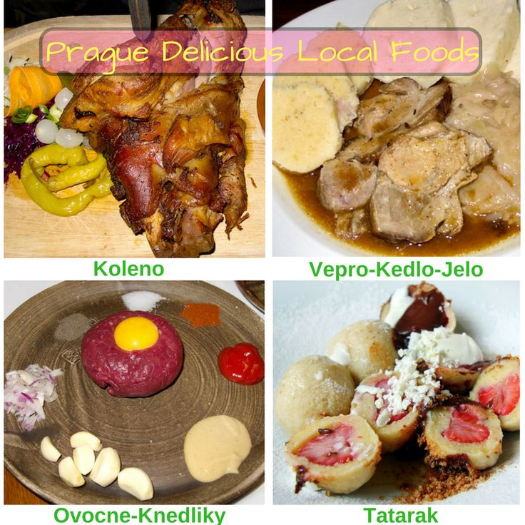 Here you can find various local delicious foods. You must try these foods during #Prague #city #tour