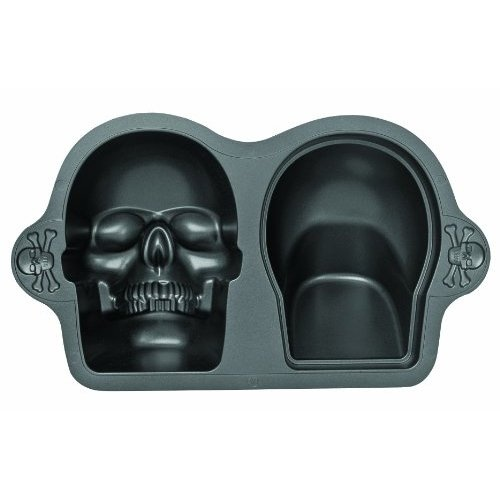 Wilton Skull Cake Pan Halloween Pinterest