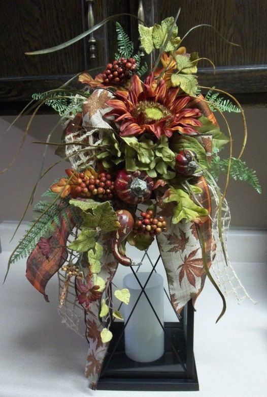Decorating Ideas > HARVEST TIME  Decorative Fall  Thanksgiving Lantern  ~ 072643_Thanksgiving Lantern Decorations