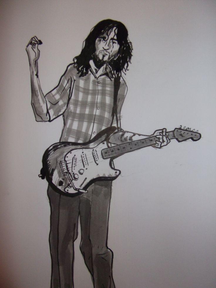John Frusciante. Ink