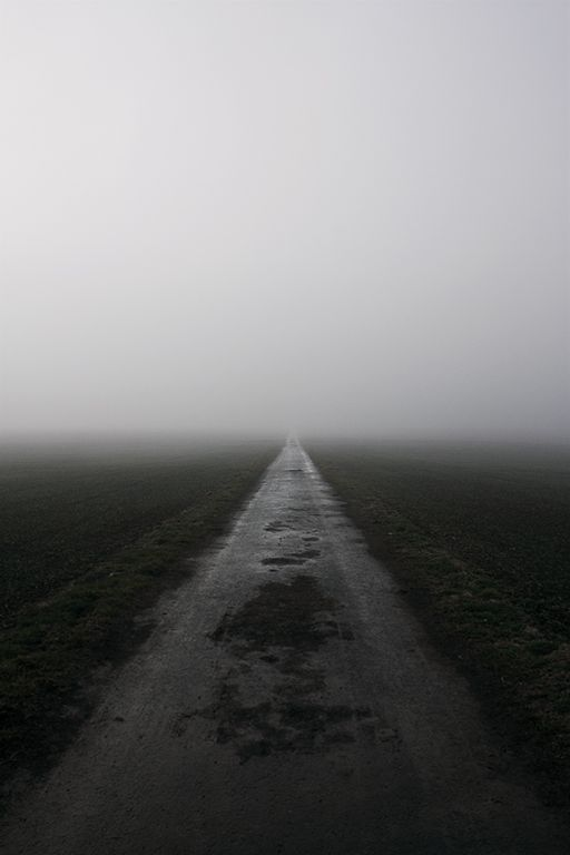 Fog-road by ~Tywele