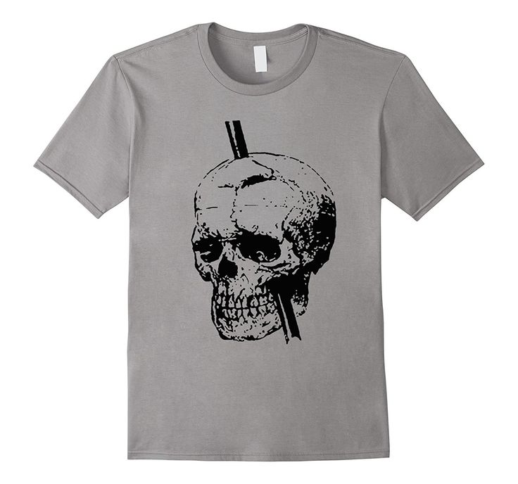 taiche: The Skull of Phineas Gage Vintage T-Shirt