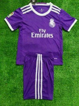 real madrid blank purple away soccer club jersey. find this pin and more on cheap jerseys youth kids children kits 2016 17