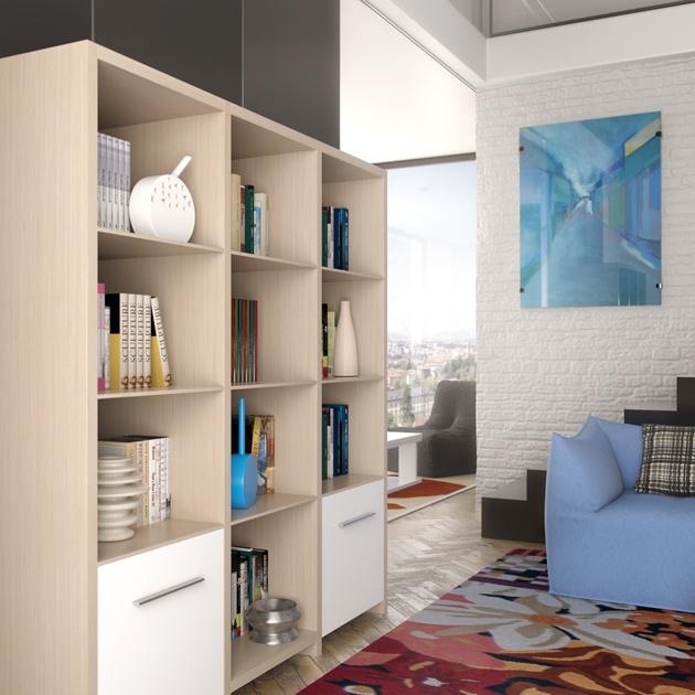 17 best images about nuestro mobiliario de salon on - Librerias modulares ...