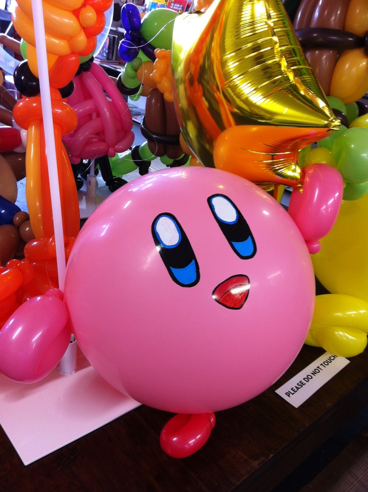 Kirby Balloon from 8 Bit Lit | Events | Pinterest ...