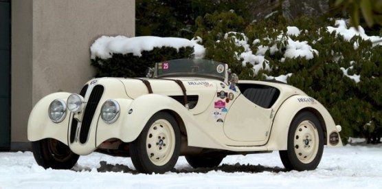 1937 BMW 328 Roadster A great car with Mille Miglia history