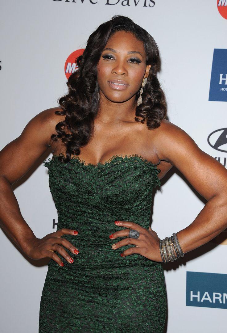 Serena Williams Clive Davis  Gala Vettri