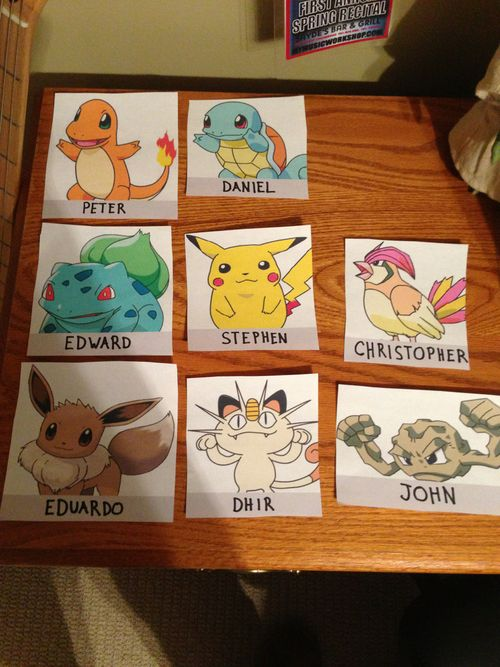 Pokemon! & 8 best Door Decs- Music images on Pinterest | Ra door decs Ra ...