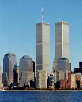 Twin Towers Before     World Trade Center Twin Towers before September 11, 2001 attack.