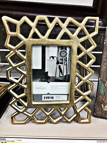 threshold gold picture frame target