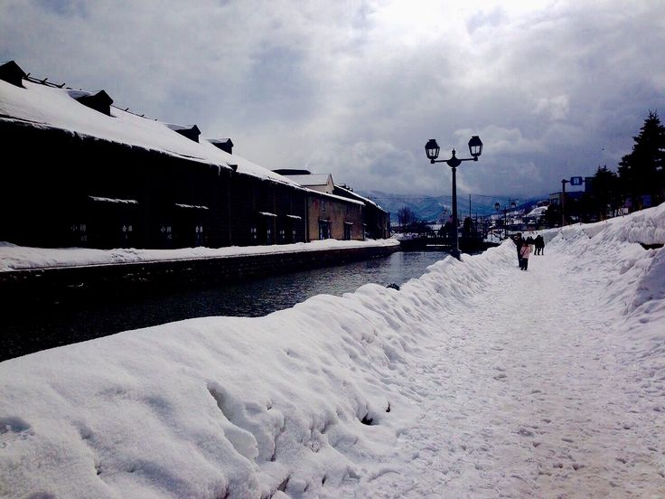 in Hakkaido(Japan),winter
