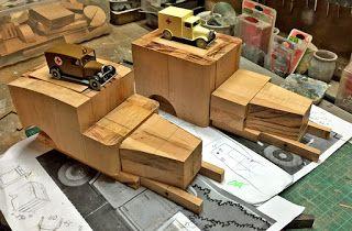 construction maquette bois tintin en amérique