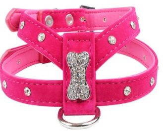 Only $15,84! Shop24seven365 with FREE SHIPPING! Available in Black, Red, and Pink. Small size suitable for Chihuahua, Pomeranian and other small breeds. Larger sizes available.