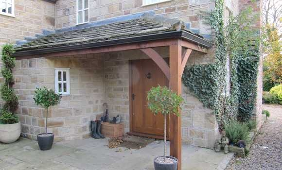 Oak Entrance Porch